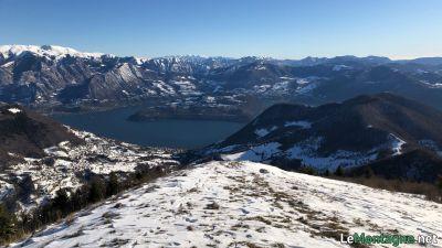 Vista verso Lago d'Iseo