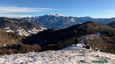Vista sul Monte Guglielmo