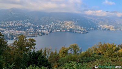 Panorama sul Lago di Como da Brunate
