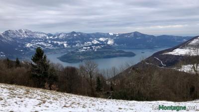 Panorama verso Monte Isola