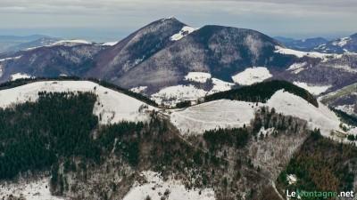 Panorama verso monte Bronzone