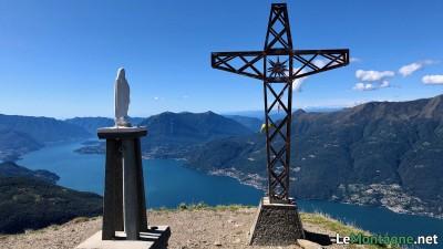 Croce di vetta del Legnoncino