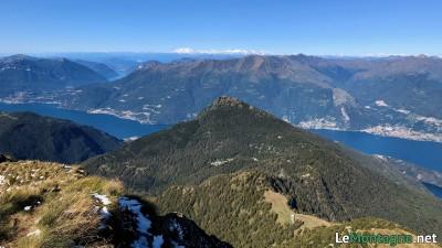Legnoncino visto dal monte Legnone