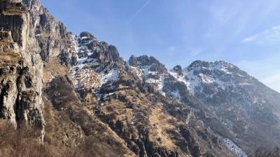 Monte Resegone dal Passo del Fò