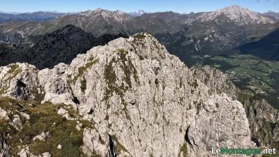 Panorama verso Pizzo Arera e Cima di Menna