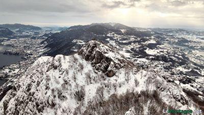 Monte Barro in inverno