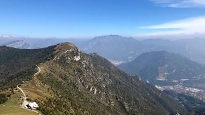 Vista verso Monte Rai