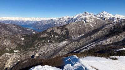 Vista verso Lago di Como e Grigne