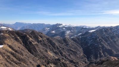 Panorama dal Monte Due Mani