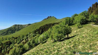 Sentiero Alto per il Monte Generoso