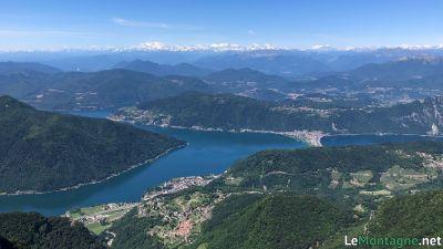 Vista verso il lago di Lugano