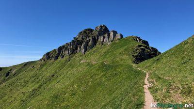 Avvicinamento alla vetta del Monte Generoso
