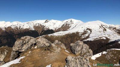 Panorama verso monte Bregagno
