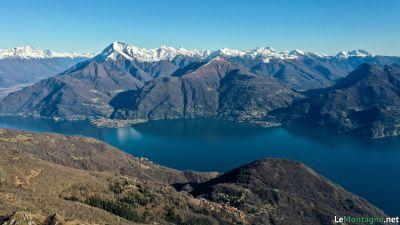 Panorama verso Legnone e Pizzo dei Tre Signori
