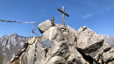 Croce di vetta Monte Melma