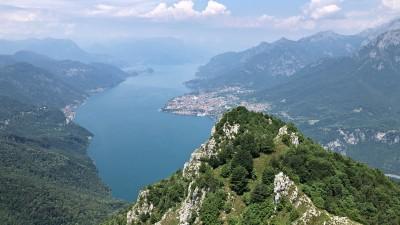 Monte Moregallo panorama sul lago di Como