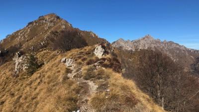 Sentiero per il monte Suchello