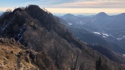 Panorama verso Selvino
