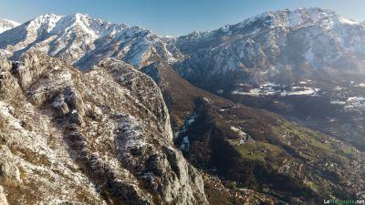 Monte San Martino con la neve
