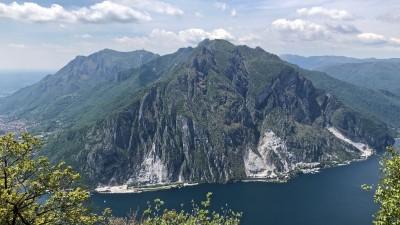Vista sul Monte Moregallo