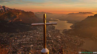 Monte San Martino al tramonto
