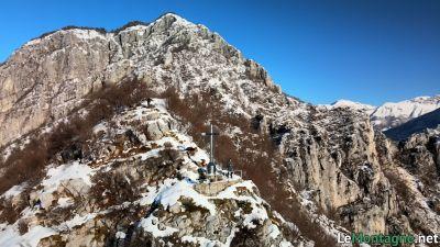 Monte San Martino in inverno