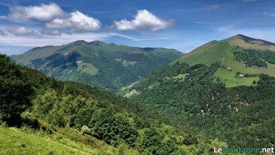 Vista sul monte Generoso