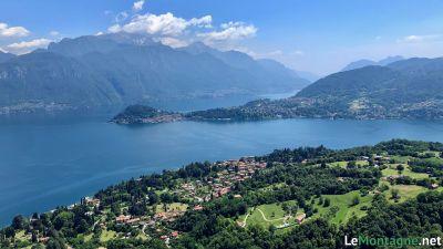 Vista su Bellagio e sul Lago di Como
