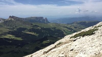 Panorama sull'Alpe di Siusi
