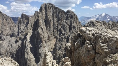 Vista sul Sassolungo