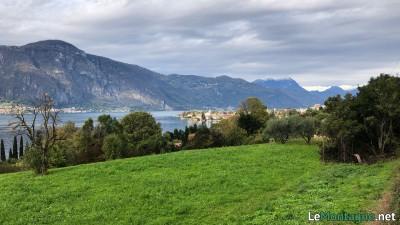 Panorama sul lago di Como