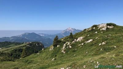 Vista su Monte Due Mani e Grignetta