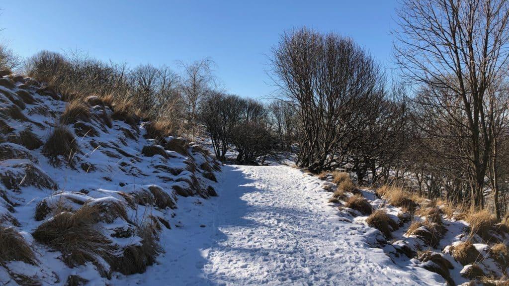 sentiero verso riella