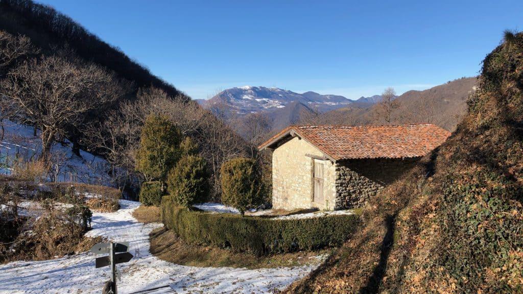vista sul monte linzone