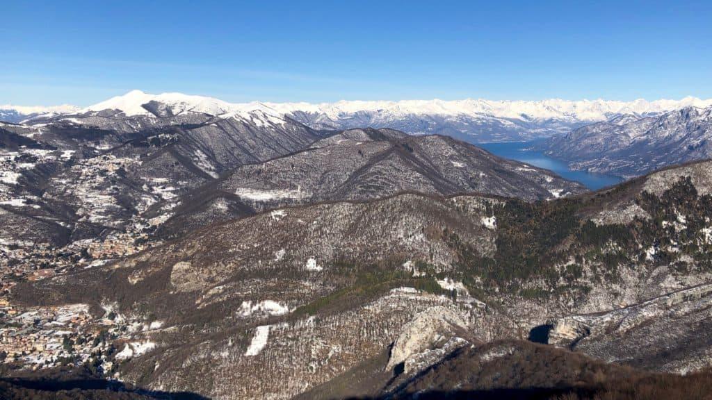vista sul monte san primo