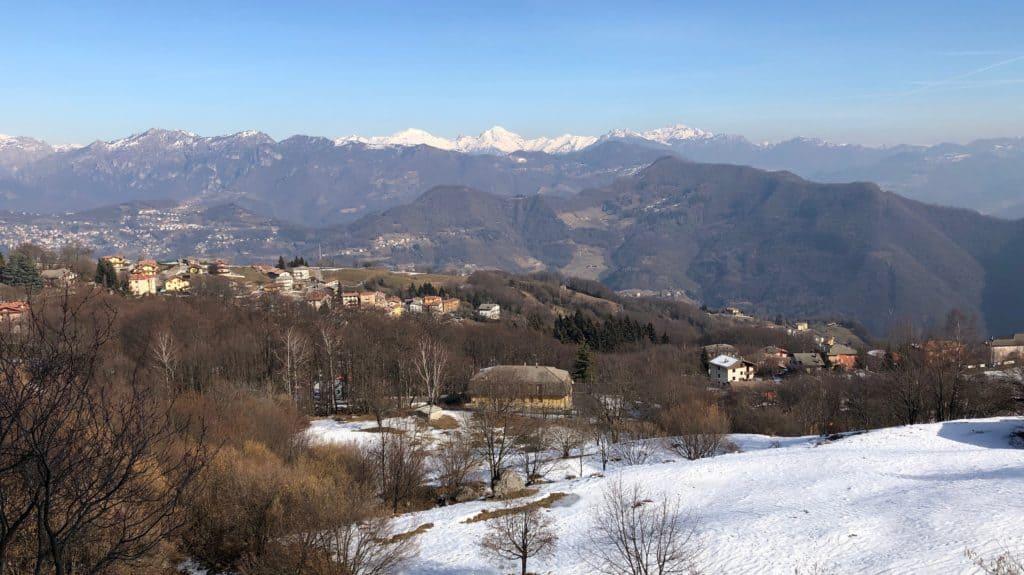 panorama sulle valli circostanti
