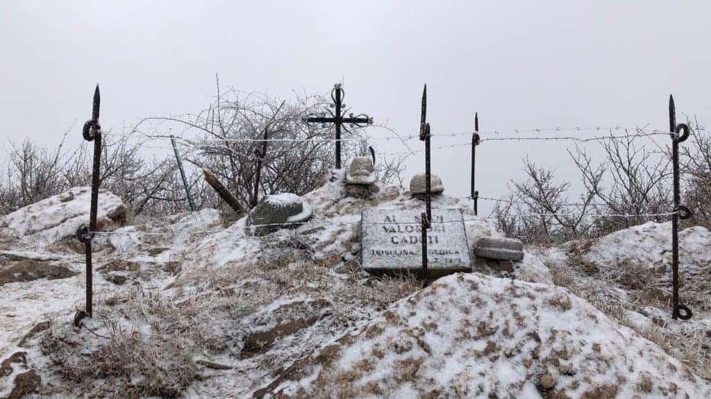 monumento in ricordo degli Alpini