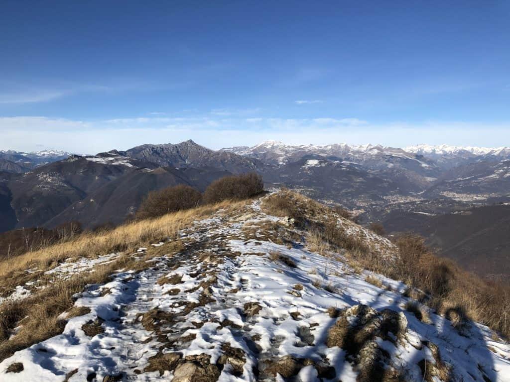 panorama dal monte misma