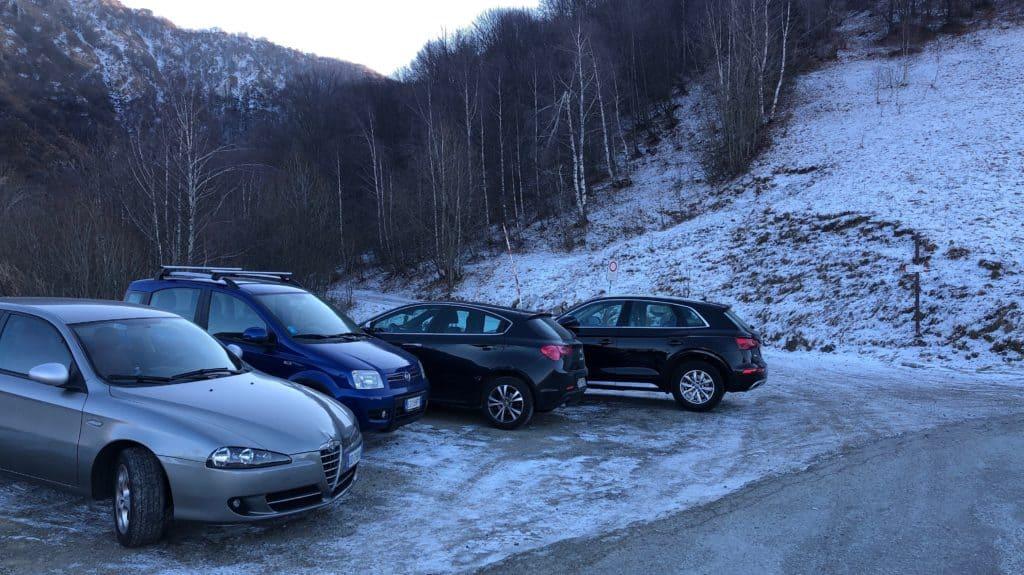 parcheggio culmine di san pietro