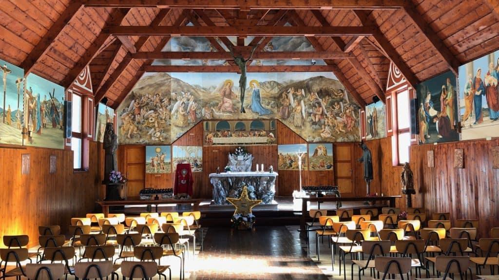 piani di artavaggio chiesa di maria santissima