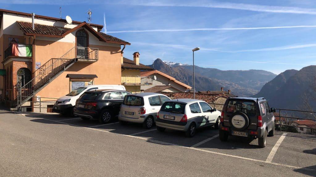 parcheggio a cimmo