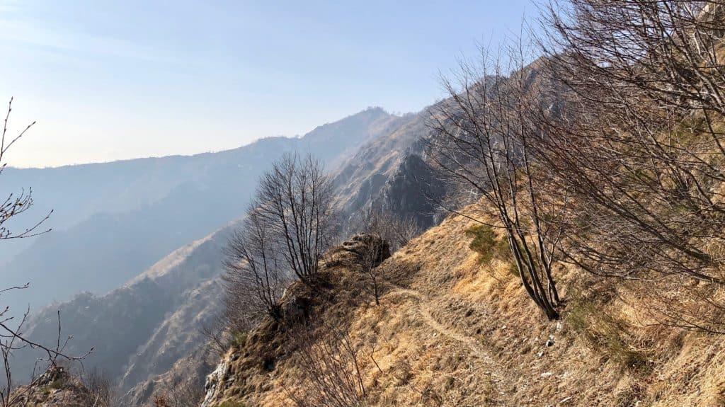 sentiero per monte magnodeno
