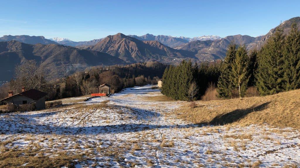 verso il santuario madonna della neve