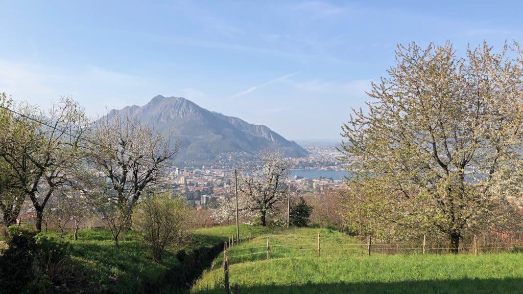 Lecco e il Monte Barro