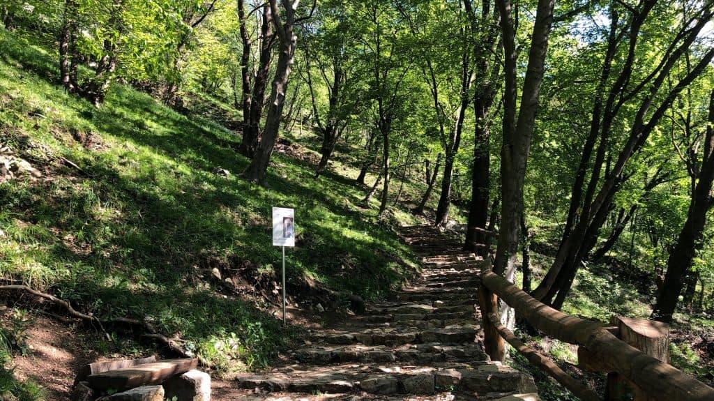 sentiero san pietro al monte
