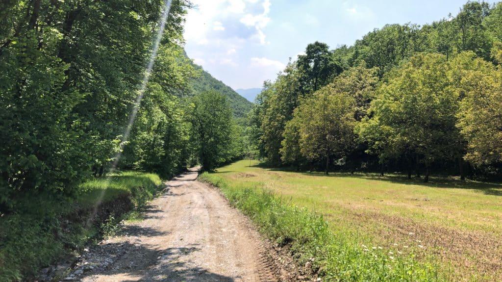 sentiero verso Lecco