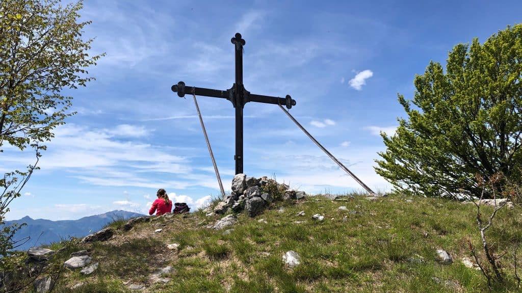 croce di vetta del san defendente