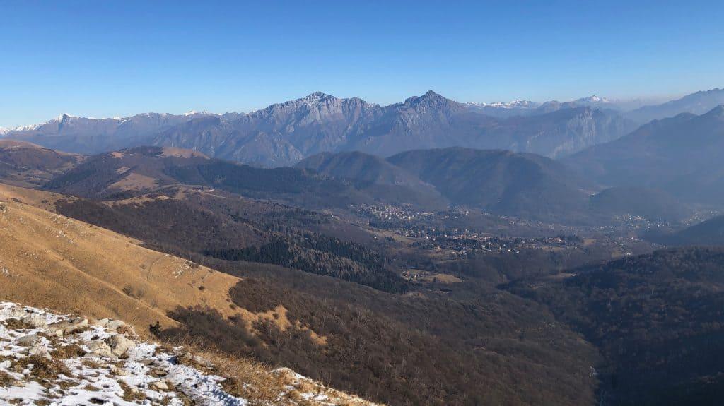 panorama dal palanzone