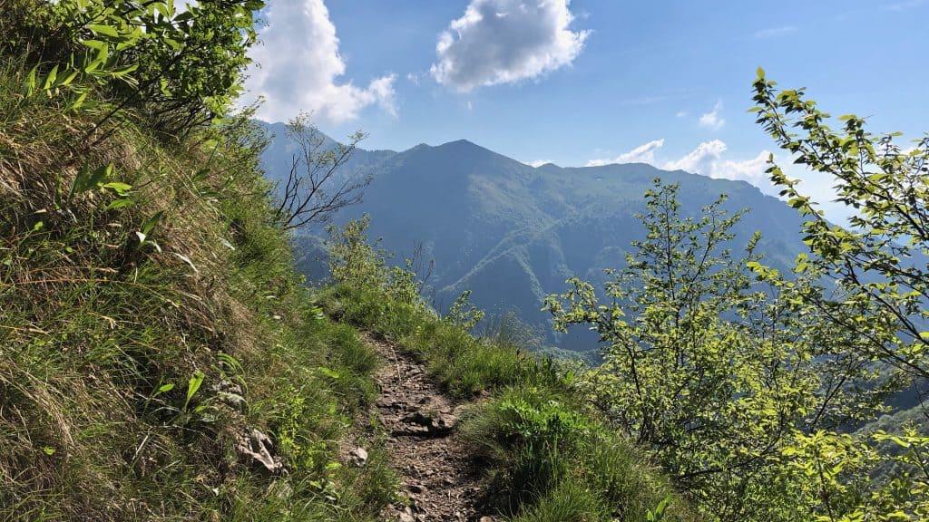 sentiero per  punta almana