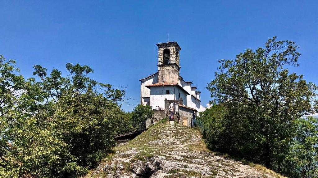 santuario madonna della Ceriola di monte isola